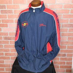 Jeff Gordon men's jacket XL 24 nascar zip (4Z62)